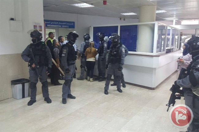 JERUSALEM (Ma'an) -- The administration of Al-Makassed Hospital in Jerusalem said Thursday it refused to hand over medical files to Israeli forces belonging to Palestinians treated after recent clashes that have erupted in the city.