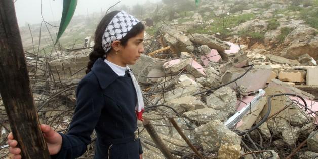PALESTINIAN-ISRAEL-CONFLICT-DEMOLITION