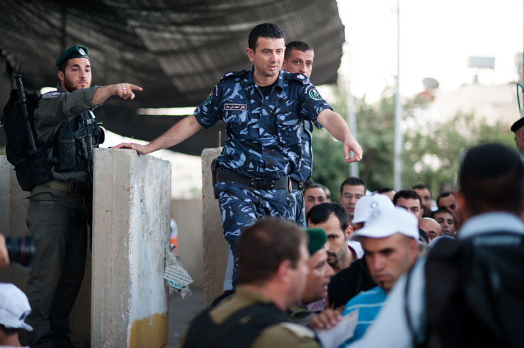 Bethlehem Checkpoint, West Bank, 17.8.2012