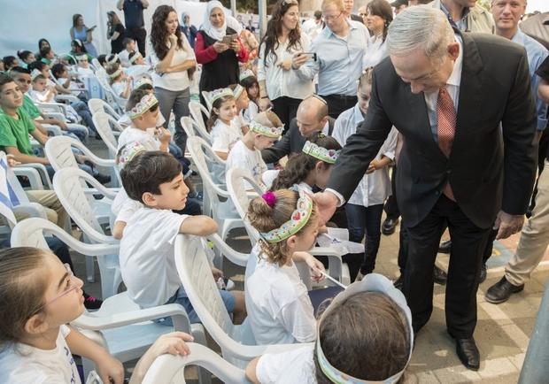 ISRAEL-PALESTINIAN-CONFLICT-EDUCATION-NETANYAHU