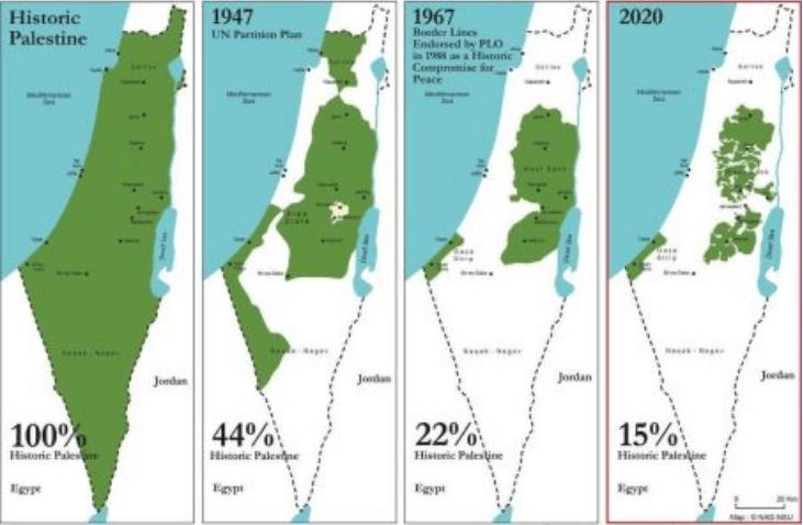 Israele E Palestina Cartina.Su Quale Mappa Israele Vuole Ora Firmare La Pace Invictapalestina